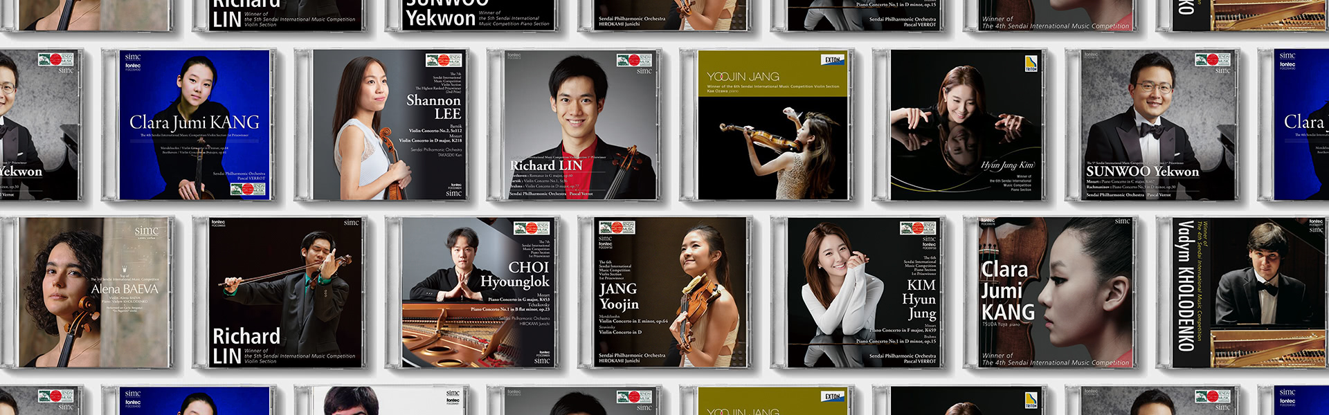 » The 6th SIMC Violin Section 1st Prizewinner, JANG Yoojin