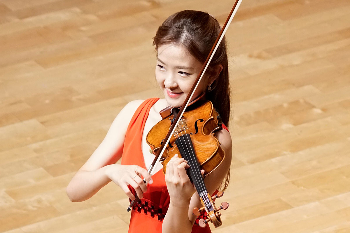 Interview with Ms. JANG Yoojin (6th SIMC Violin Section 1st Prizewinner)