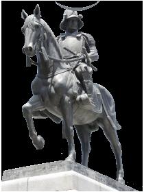 伊達政宗の像