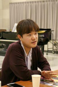 チェ・ヒョンロクさんインタビュー(第7回ピアノ部門優勝)